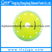 Turbo Type Diamond Cutting Blade Tools