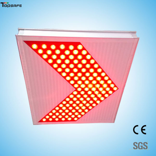 Solar LED arrow signal