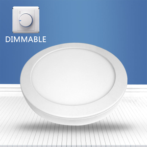 Dimmable Round surface mounted panel light 18W