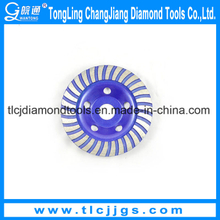 Turbo Diamond Grinding Abrasive Cup Wheel, Abrasive Grinding Wheel