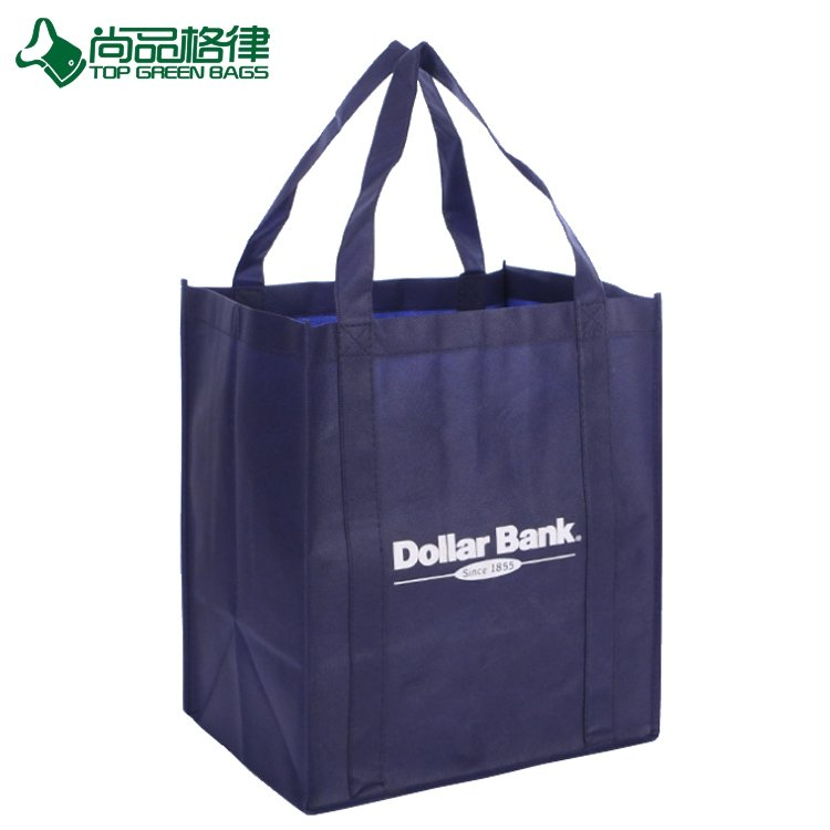5feb5586c5d Reusable Shopping Tote Vegetable Bags Non Woven Hand Bag (TP-SP602 ...