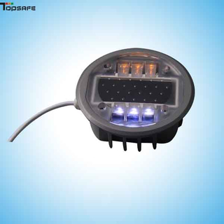 Wired led embedded road stud