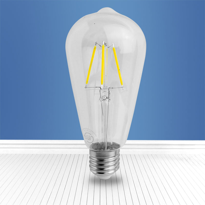 filament glass bulb GT64 4W
