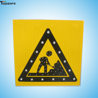 Solar Traffic Road Construction Sign