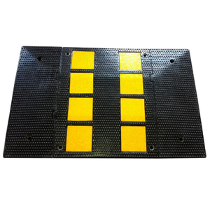 Traffic Calming Rubber Speed Hump (W600xL500xH30mm) for speed limit of (50 km/hr.)