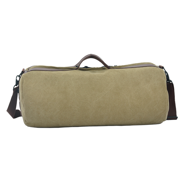 Canvas large duffel shoulder bag