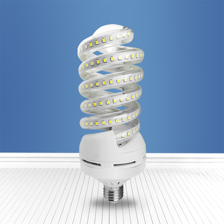 28 spiral E27 led light JingYing LED