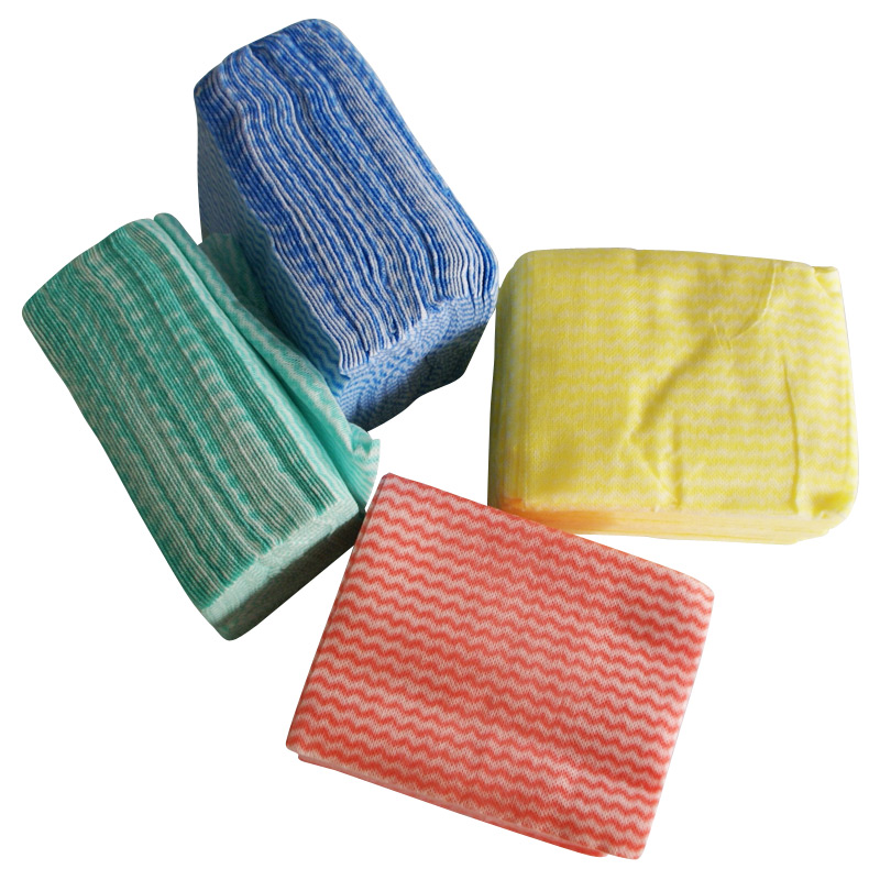 Household Disposable Nonwoven Cleaning Cloth Wipes