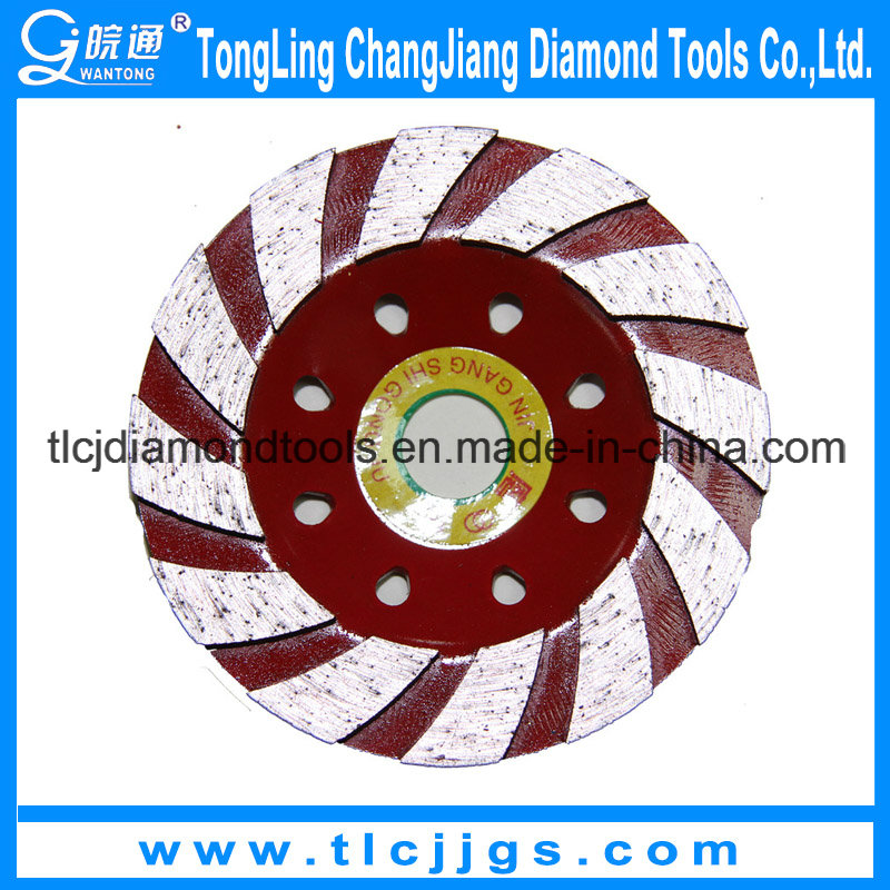 Sintered Abrasive Concrete Diamond Cup Grinding Wheel