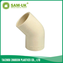 CPVC 45 degree elbow for water supply Schedule 40 ASTM D2846
