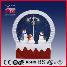 (40110F190-3S-RS) Snowing Christmas Decorations with Frame-supported and Textile-decorated