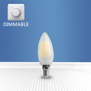 Dimmable filament Matted bulb C35 2W