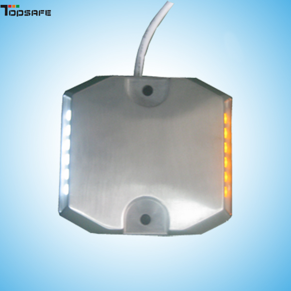LED Aluminum Wired road stud used in the tunel