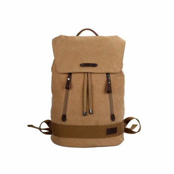 Cute canvas drawstring backpack girls
