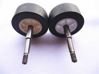 Ferrite integrated motor magnet / Ferrite motor magnet with plastic injection