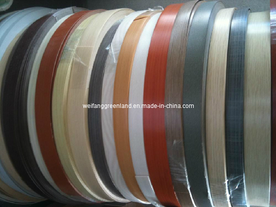 Wood Grain PVC Edging Tape from China manufacturer - Weifang