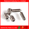 Hex Socket Head Set Screw with Cone Point in Stainless Steel 304