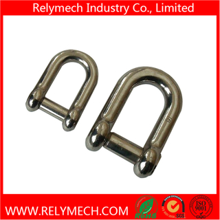 Stainless Steel D Type Shackle, Anchor Shackle for Chain Connecting