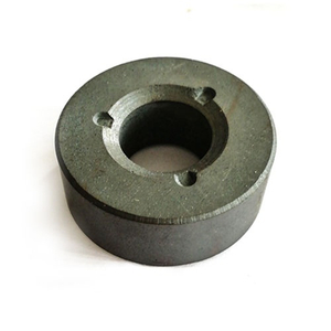 Ferrite sintered anisotropic multipole magnet ring for motor