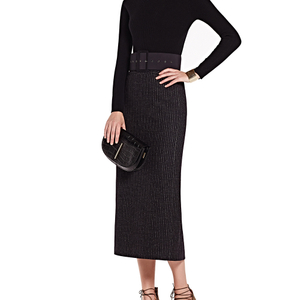 Fashion Ladies Cashmere Skirt