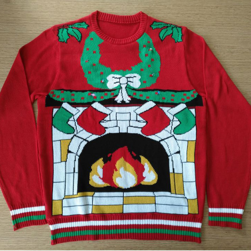 PK18A91YF Unisex China Christmas Sweater