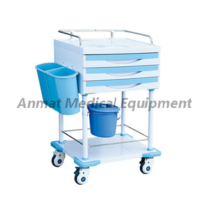 Easy Clean Medical Mobile Treatment Trolley for Hospital Clinic