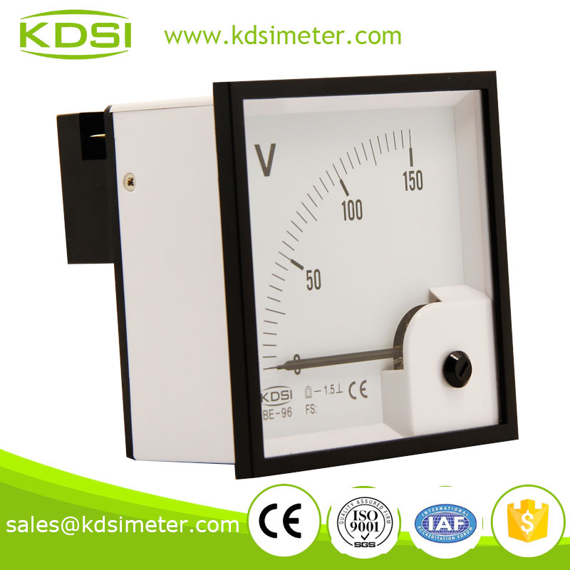 High Frequency Voltmeter : Car voltmeter dc analog
