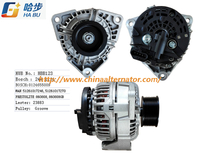24V 110A Alternator 0 124 655 009 0124655009 for Bosch Camion Man