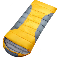 Envelope Shape Compact Sleeping Bag Can Be Spliced