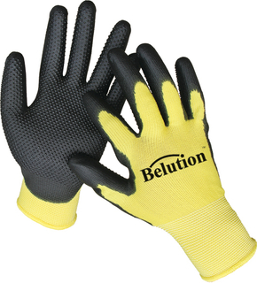 PVC DOTTED PU GLOVES