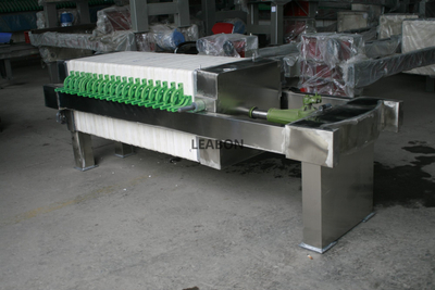 Food And Chemical Stainless Steel Filter Press