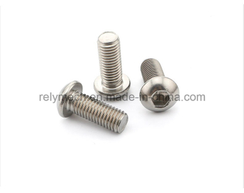 Stainless Steel Hex Socket Pan Head Machine Screw M3-M5