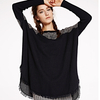 PK17B034F Simple Printed Women Cashmere Pullover
