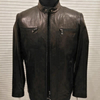 Men leather business suit zipper pocket jacket clothes
