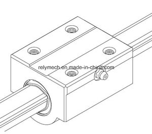 Lbh Square Type Ball Spline/Linear Motion Spline/Linear Ball Spline