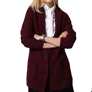 PK17B159F Fashion Women Cashmere Coat