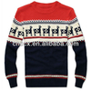 13STC5086 2017 Deer jacquard knitted christmas jumpers