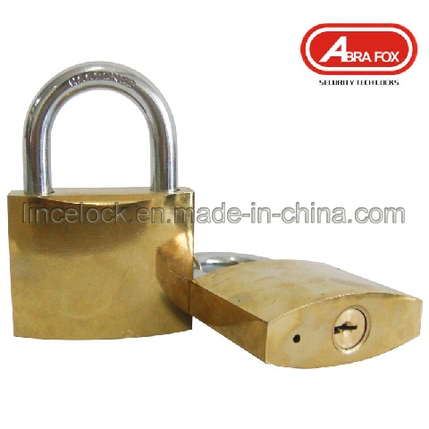 Golden Plated or Chrome Plated Iron Padlock (305)