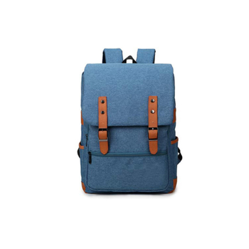 cotton canvas travel backpack mens