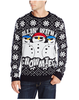 PK1825HX Hot Selling Ugly Christmas Sweater for Men Snow