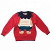 OEM kids autumn winter knitted cotton cashmere smart ugly christmas pullover sweater