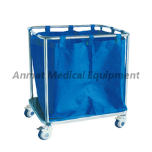 Stainless steel waste collecting trolley manufacturer