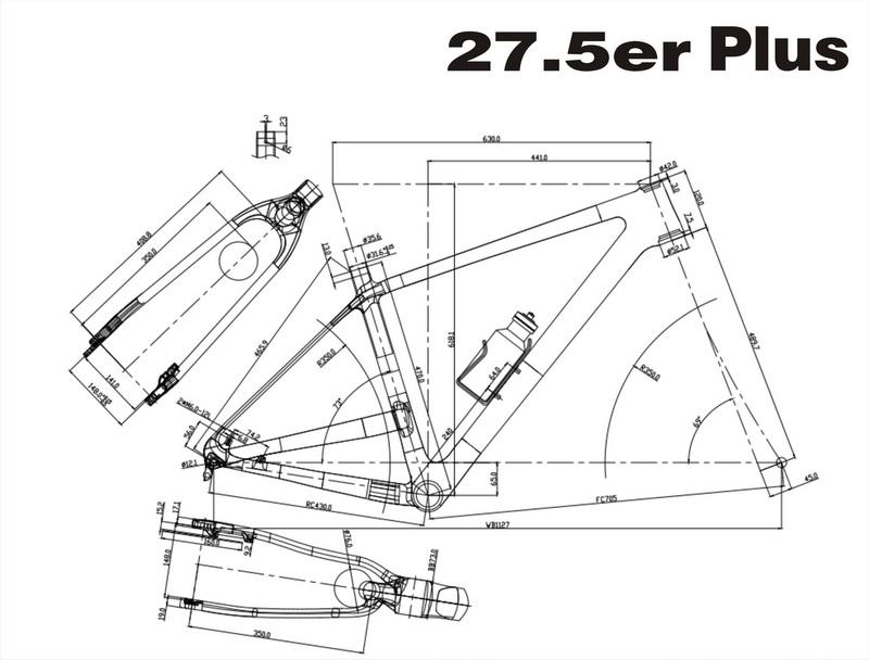 M527 650B plus frame 5-S