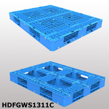 Picture frame bottom Stackable plastic pallet L1300*W1100*H150