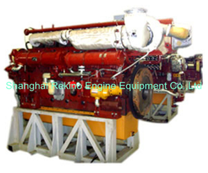 515-980HP JDEC Jichai Heavy oil marine medium speed diesel engine (8190)