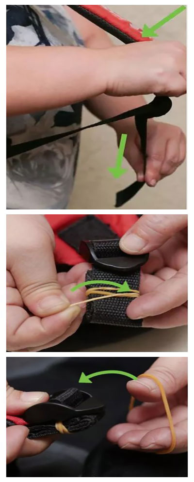 How to shorten the Straps of best cooler backpack