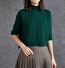17PKCS455 2017 Knit Wool Cashmere Knitted Lady Sweater