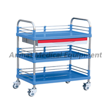 Multi-Purpose medical utility cart with drawer