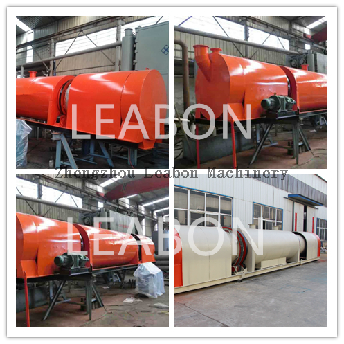 2019 Leabon CE High Temperature No Smoke Wood Charcoal Continuous Carbonization Furnace