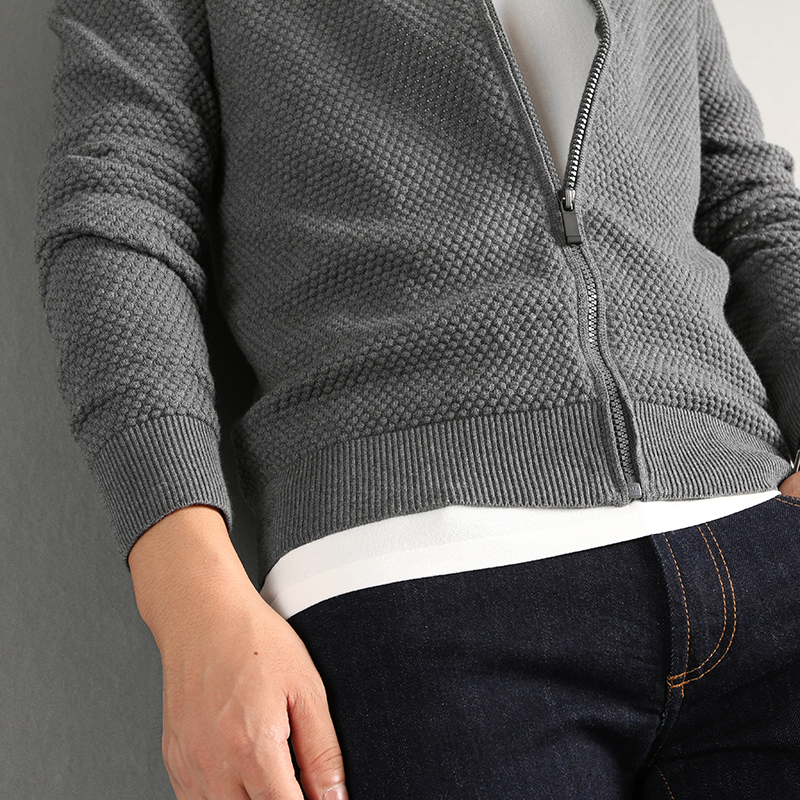 P18B04TR cotton cashmere knitted sweater for men
